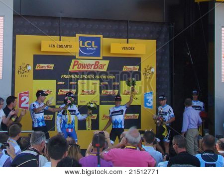 The Tour de France - Stage 2