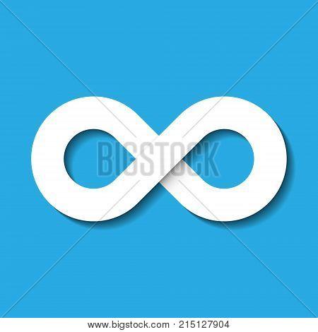 Infinity Symbol Icon Vector Photo Free Trial Bigstock
