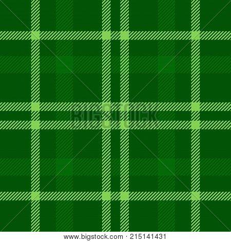 Tartan Seamless Pattern Background. Green Plaid, Tartan Flannel Shirt Patterns. Trendy Tiles Vector Illustration for Wallpapers.