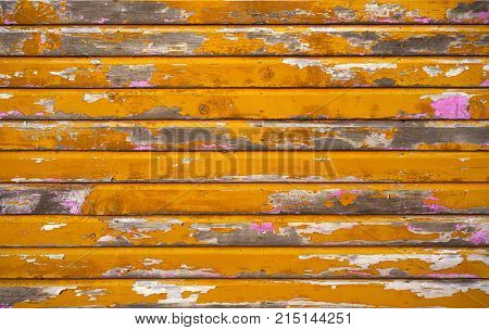 Mahahual Caribbean grunge wood painted wall textures in Costa Maya Mexico