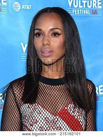 LOS ANGELES - NOV 18:  Kerry Washington arrives for the Vulture Festival's: Scandal: The Final Season on November 18, 2017 in Hollywood, CA