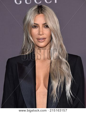 LOS ANGELES - NOV 04:  Kim Kardashian arrives for the 2017 LACMA Art + Film Gala on November 04, 2017 in Los Angeles, CA