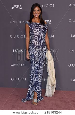 LOS ANGELES - NOV 04:  Eva LaRue arrives for the 2017 LACMA Art + Film Gala on November 04, 2017 in Los Angeles, CA