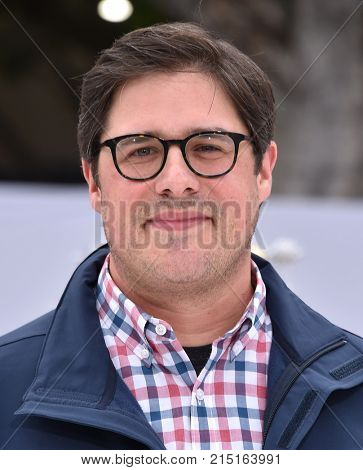 LOS ANGELES - NOV 12:  Rich Sommer arrives for the 'The Star' World Premiere on November 12, 2017 in Westwood, CA