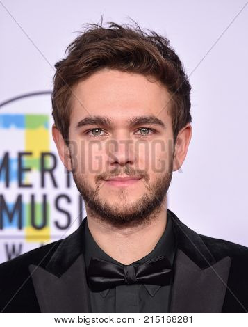 LOS ANGELES - NOV 19:  Zedd arrives for the 2017 American Music Awards on November 19, 2017 in Los Angeles, CA
