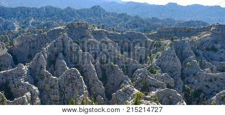 lapya cliffs region & cliffs of the devil