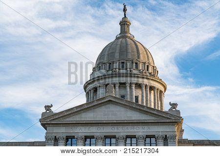 Capitol Dome of Oklahoma in Oklahoma City OK