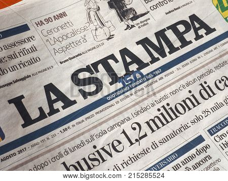 La Stampa Newspaper