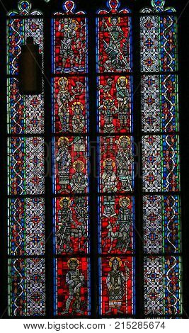 Stained Glass In Worms - Cartholic Saints