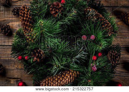 Christmas Decorative Green Wreath