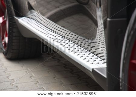 Footboard Of The Car