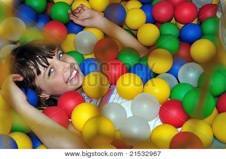 Child With Balls