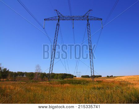 The electrical grid near field power background