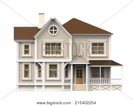 Victorian Family House Front