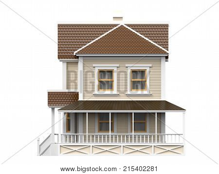 Victorian Family House Side