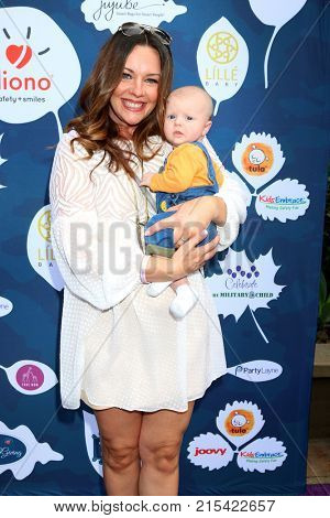 LOS ANGELES - NOV 19:  Ginifer King, Child at the Diono Presents A Day of Thanks & Giving at Garland Hotel on November 19, 2017 in North Hollywood, CA
