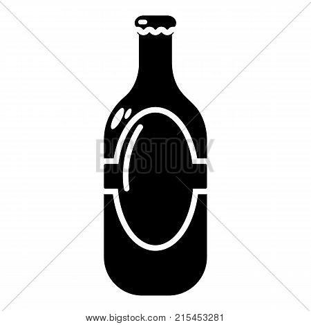 Vodka icon. Simple illustration of vodka vector icon for web