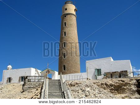 Lighthouse of Big Brother Brother Islands Red Sea Egypt