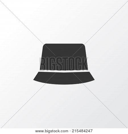 Panama icon symbol. Premium quality isolated sunhat element in trendy style.