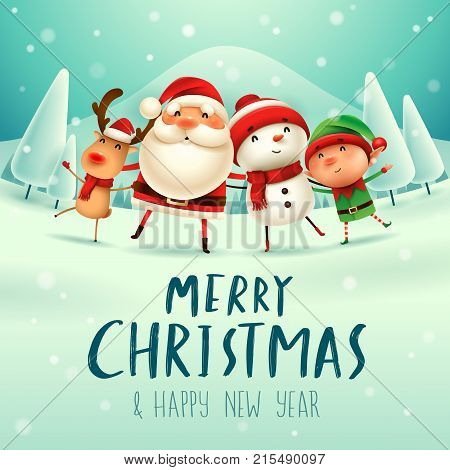 Santa4_friends_txtbelow 01