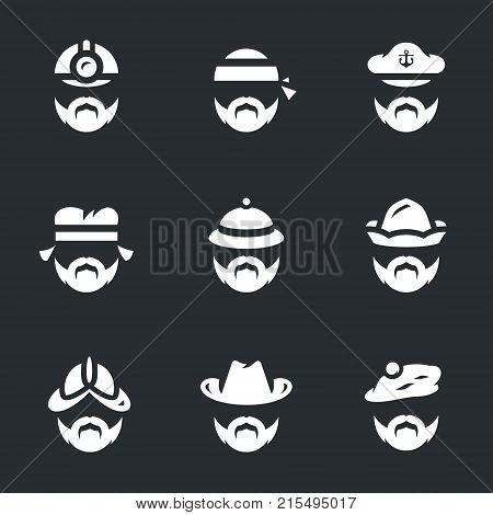 Builder, biker, sailor, artisan, hunter, bath attendant, conquistador, cowboy, scotsman.