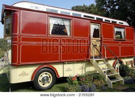 Large Romany Caravan