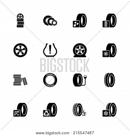 tires icons expand vector photo free trial bigstock