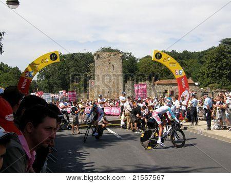 Stage 2 Start Tour de France