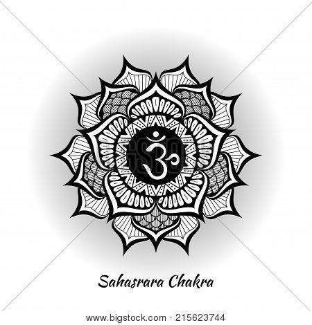 Sahasrara Chakra Vector Photo Free Trial Bigstock