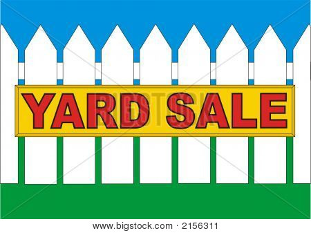 Backyard Sale Yellow