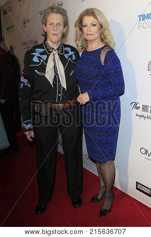 LOS ANGELES - NOV 11:  Dr Temple Grandin, Mary Hart at the 2017 D.R.E.A.M. Gala at the Montage Hotel on November 11, 2017 in Beverly Hills, CA