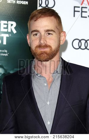 LOS ANGELES - NOV 12:  Andrew Santino at the AFI FEST 2017