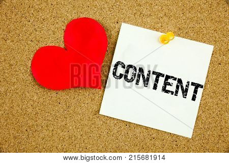 Conceptual Hand Writing Text Caption Inspiration Showing Content Concept For Business To Success And