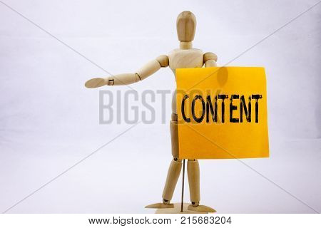 Conceptual Hand Writing Text Caption Inspiration Showing Content Business Concept For Business To Su