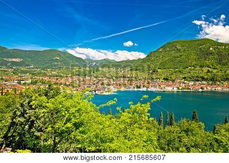 Town Of Salo On Garda Lake View