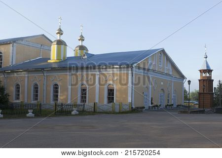 Verhovazhe, Vologda Region, Russia. Cathedral of the Assumption of the Blessed Virgin Mary