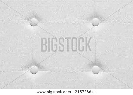 white faux leather padding texture background pattern
