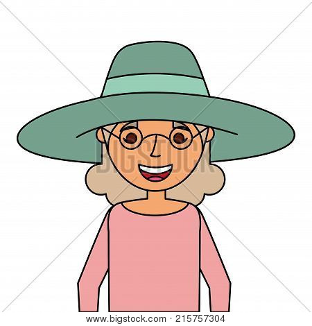 Old Woman Portrait Lady Grandma Cartoon