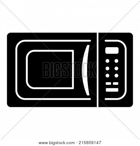 Microwave icon. Simple illustration of microwave vector icon for web