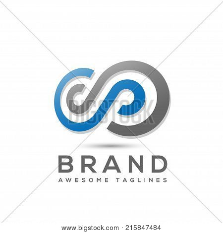 Infinity logo Design,letter s Infinity logo Vector Logo template, loop logo vector