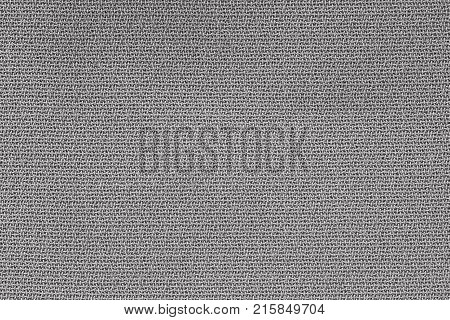 Close Up Background Pattern of gray Textile Texture Abstract color textile net pattern texture