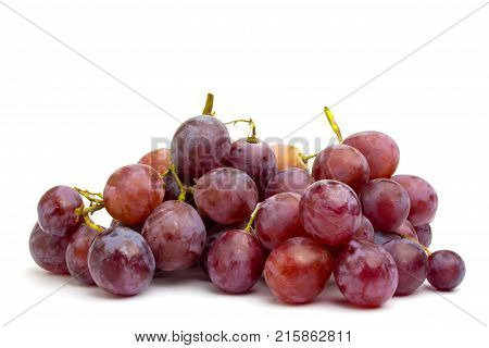 Grape wilt on a white background.Grape wilt on a white background.