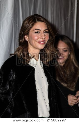 NEW YORK, NY - NOVEMBER 27: Sofia Coppola attends the 2017 IFP Gotham Awards at Cipriani Wall Street.