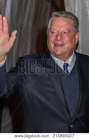 NEW YORK, NY - NOVEMBER 27: Al Gore attends the 2017 IFP Gotham Awards at Cipriani Wall Street on November 27, 2017 in New York City.