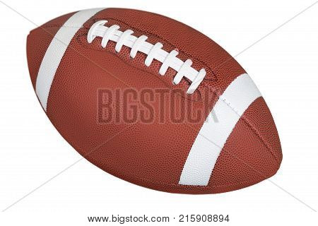 Ball american football american football football ball color image isolated on white