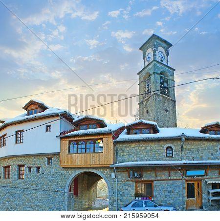 Agia Paraskevi Church In Metsovo, Greece