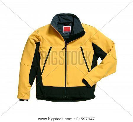 Yellow Softshell Jacket