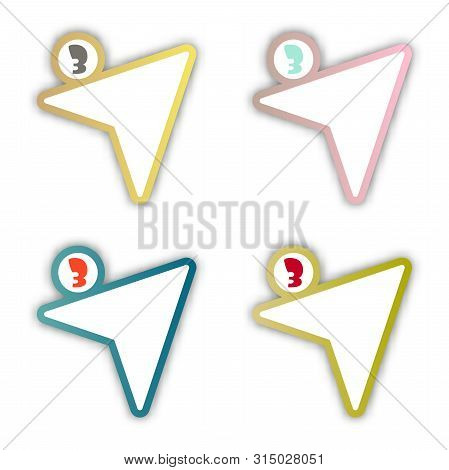Circle Infographics. Template For Diagram, Graph, Presentation And Chart. Vector Illustration With 3