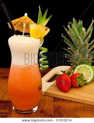 Strawberry Pina Colada