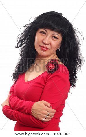 Beautiful eastern woman